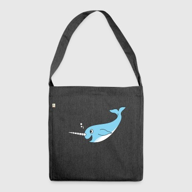 narwhal - Shoulder Bag made from recycled material