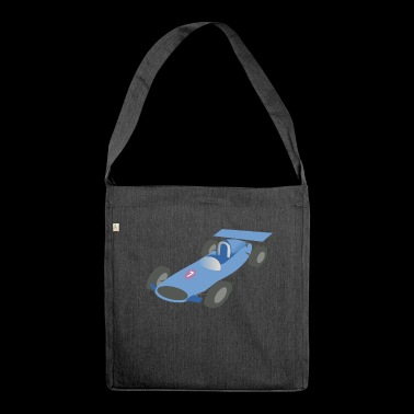 race car - Shoulder Bag made from recycled material