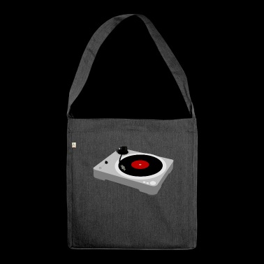 Turntable / Turntable - Shoulder Bag made from recycled material