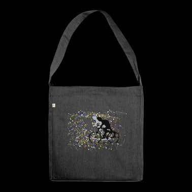Confetti Cycling - Shoulder Bag made from recycled material