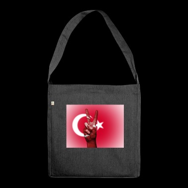 Turkish Peace - Shoulder Bag made from recycled material
