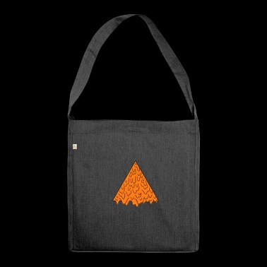 triangle grime - Shoulder Bag made from recycled material