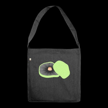 mushrooms mushrooms fungi veggie vegetables vegetables117 - Shoulder Bag made from recycled material