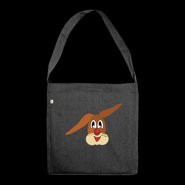 Bunny easter bunny easter - Shoulder Bag made from recycled material