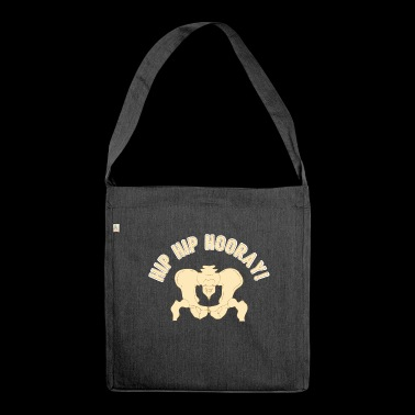 Regalo Hip Hip Hooray - Borsa in materiale riciclato