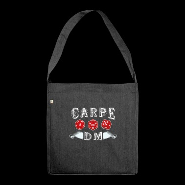 Carpe DM - Carpe Diem - Shoulder Bag made from recycled material