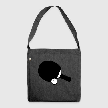 table tennis - Shoulder Bag made from recycled material