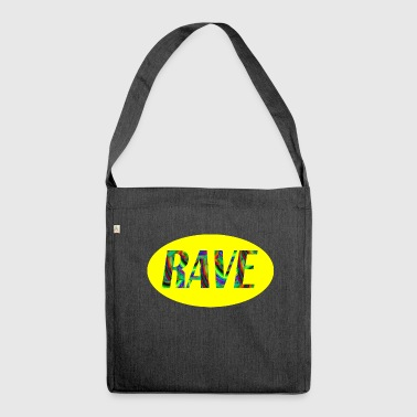 rave 69 - Shoulder Bag made from recycled material