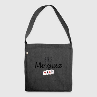 Strip merguez - Shoulder Bag made from recycled material