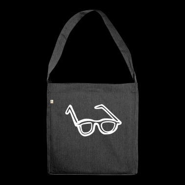 Brille - Schultertasche aus Recycling-Material