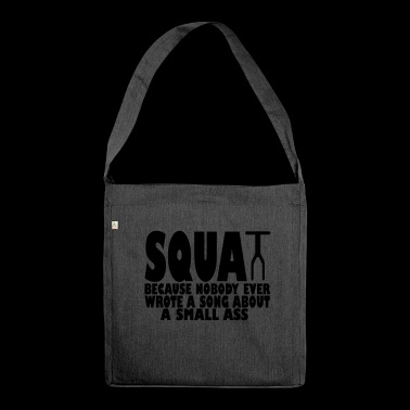 squat - Shoulder Bag made from recycled material