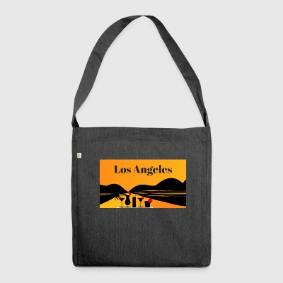 Los Angeles - Schultertasche aus Recycling-Material