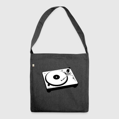 Turntable - Shoulder Bag made from recycled material