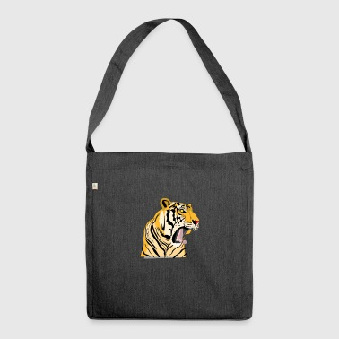 Roar Tiger - Shoulder Bag made from recycled material