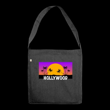 HOLLYWOOD Shirt - Schultertasche aus Recycling-Material