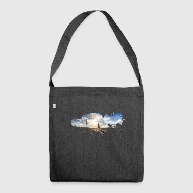 Journey to infinity - Shoulder Bag made from recycled material