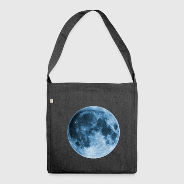 Full Moon, magic, fantasy, night, wicca, space - Shoulder Bag made from recycled material