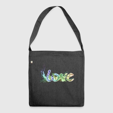 LOVE Fairy Tale Fairy Fonts - Shoulder Bag made from recycled material