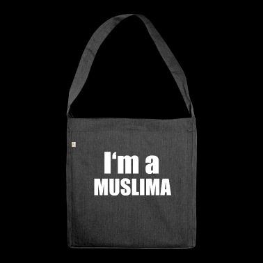 Muslim - Shoulder Bag made from recycled material