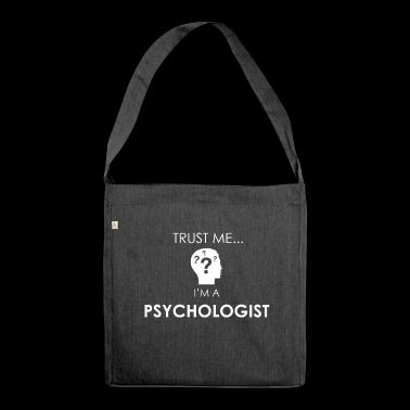 Psychologe - Schultertasche aus Recycling-Material