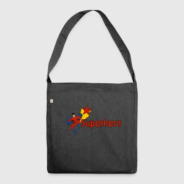 Superhero - Shoulder Bag made from recycled material