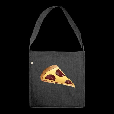 pizza pizzeria food food restaurant31 - Shoulder Bag made from recycled material