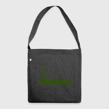 Grass - Shoulder Bag made from recycled material