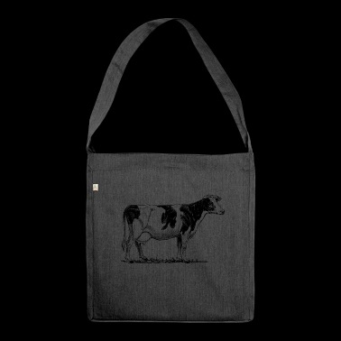 Madam cow - Shoulder Bag made from recycled material
