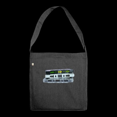 cassette - Shoulder Bag made from recycled material