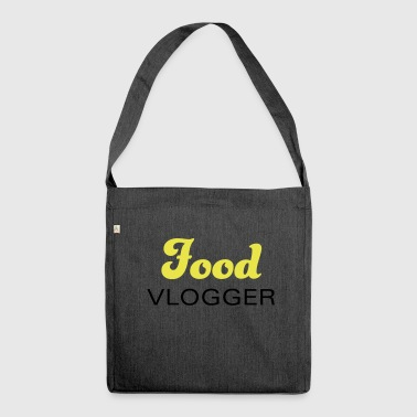 Food bloggers and vloggers for nutrition & food - Shoulder Bag made from recycled material