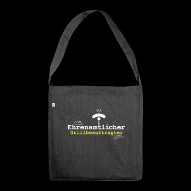 Volunteer Grill Officer - Shoulder Bag made from recycled material