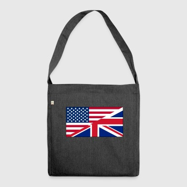 USA UK - Shoulder Bag made from recycled material