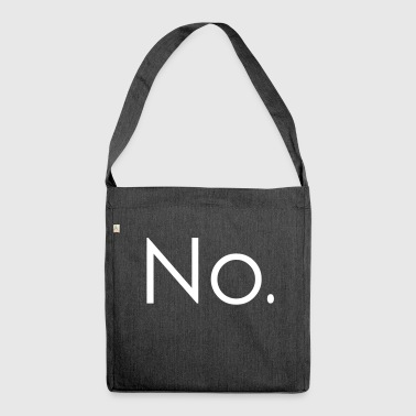 No. - Borsa in materiale riciclato