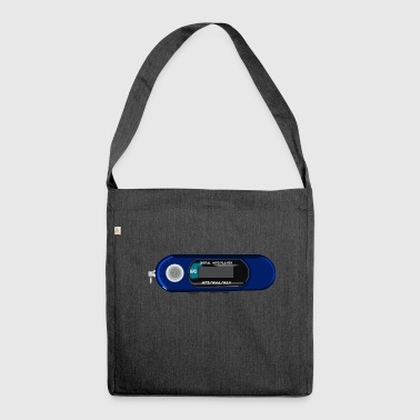 Mp3 Player - Schultertasche aus Recycling-Material