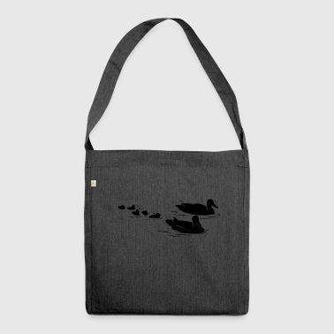ducks - Shoulder Bag made from recycled material