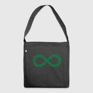 infinito - Borsa in materiale riciclato