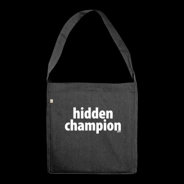 Hidden Champion - Shoulder Bag made from recycled material
