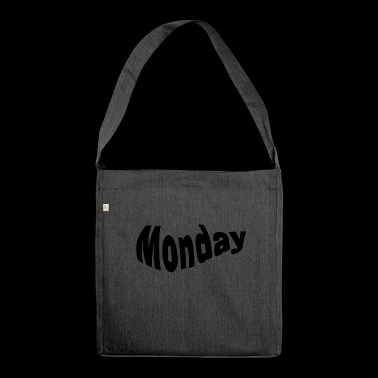 Montag - Schultertasche aus Recycling-Material