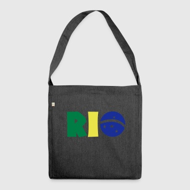 Rio - Schultertasche aus Recycling-Material
