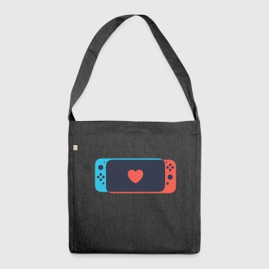 Switch Love - Shoulder Bag made from recycled material