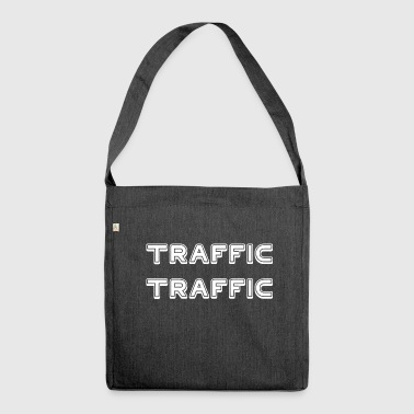 TRAFFIC TRAFFIC - Shoulder Bag made from recycled material