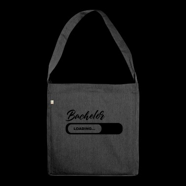 Bachelor Loading - Schultertasche aus Recycling-Material