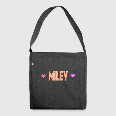 Miley - Schultertasche aus Recycling-Material