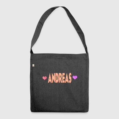 Andreas - Shoulder Bag made from recycled material