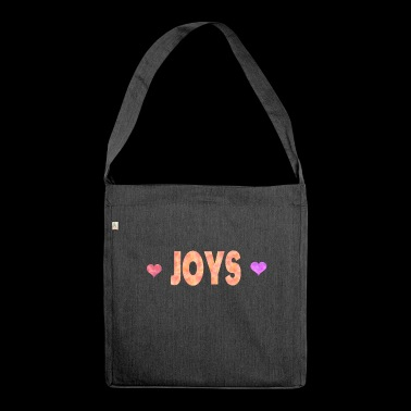Joys - Shoulder Bag made from recycled material