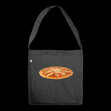 pizza pizzeria food food restaurant41 - Shoulder Bag made from recycled material