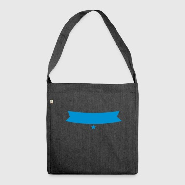 banner - Shoulder Bag made from recycled material