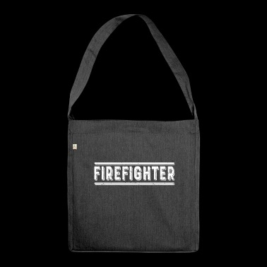 Firefighter Firefighter Firefighter Firefighter - Shoulder Bag made from recycled material
