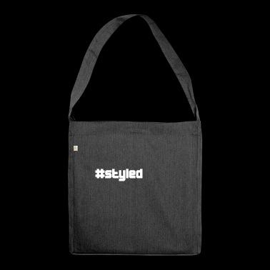 styled styled - Shoulder Bag made from recycled material