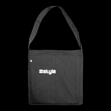 style style - Shoulder Bag made from recycled material